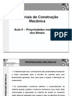 Aula_06V1_-_Propriedades_Mecânicas_dos_Metais
