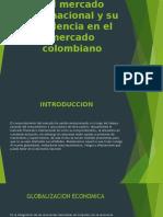 Comportamiento del mercado internacional y su incidencia en