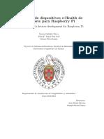 Rasberry pi Electrocardiograma