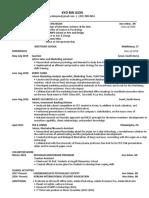 kyobin resume