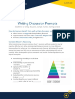 discussion prompts writing  1