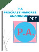 Apostila - P.A - Procrastinadores Anônimos
