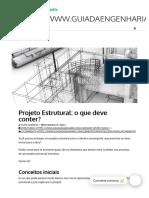 Projeto Estrutural_ o que deve conter_ - Guia da Engenharia.pdf