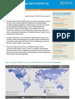 WHO COVID-19 report - April 9, 2020