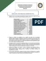 Ejercicios contabilidad administrativa