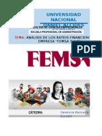 Analisis de Ratios Financieros_femsa