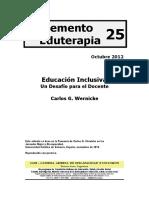 Wernicke, Carlos   Educación inclusiva_ un desafío para el docente