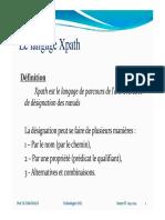 4- Le Langage XPath
