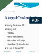 5- Le Langage XSLT