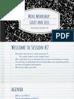 grief loss workshop presentation