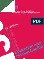 Lisbon Council European Human Capital Index Cee