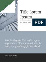 Title Lorem Ipsum 2