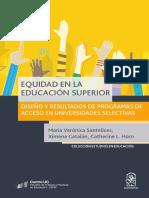 Equidad en la Educación Superior