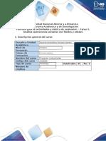 Guia de actividades y rubrica de evaluacion-Tarea 3. Análisis operaciones unitarias con fluidos y sólidos.docx