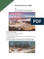 Copia de LAS ERAS GEOLÒGICAS DE LA TIERRA (1)