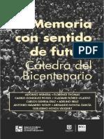 Memoria con sentido de futuro - Cátedra del Bicentenario