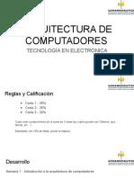 Semana 1 - Introduccion ARQUITECTURA DE COMPUTADORES (1).pptx