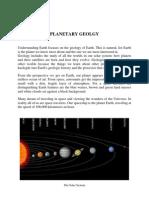 2 Planetary Geology