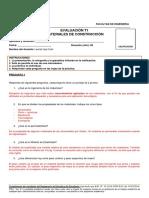 Evaluación T1 - 2 Materiales de construccion