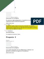 examen unidad 1 clase 2 Direccion de Proyectos II