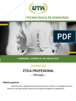 MATERIAL ETICA PROFESIONAL III PARCIAL