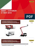 Palfinger - 2018 EMAF EXPONOR