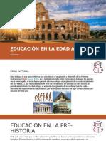 EDUCACIÓN EN LA EDAD ANTIGUA 2