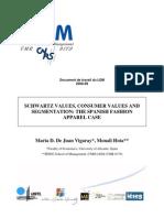 Spain Consumer Values & Segmentation