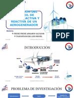 Control de potencia activa y reactiva de un aerogenerador