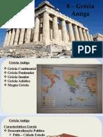 8 - Grécia Antiga
