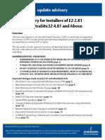026-4127 E2 2.81 UltraSite 4.81 Upgrade Document