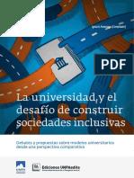 Aaranciaga UNPA-Universidades y sociedades inclusivas