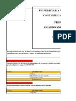 TALLER PRACTICO DE CONTABILIDAD UNIDAD 3