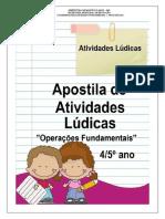 OPÉRAÇÕES E CÁLCULOS