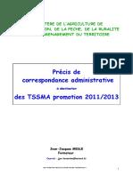 PRECIS_DE LA CORRESPONDANCE ADMIN.pdf