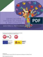 Educación intercultural e inclusiva_Guía del profesorado
