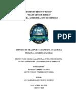 SERVICIOS DE TRANSPORTE ADAPTADO A TAXI 3RO ADMINISTRACION.pdf