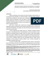 """ARGUMENTAÇÃO, PERSUASÃO E MANIPULAÇÃO EM """"DE MANHÃ CAI O CACIMBO"""""""