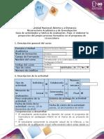 Guía de Actividades y Rúbrica de Evaluación-Paso 4 - Elaborar la proyección del propio proceso formativo en el programa de Licenciatura.docx