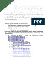 Actividades sugeridas sobre mantenimiento a transformador de potencia (semanas de contingencia por covid-19)