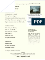 """""""Sometimes, Only a Wink..."""" Poem in English by Payman Akhlaghi (v01)"""
