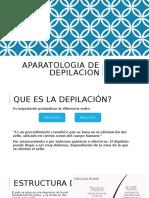 Aparatologia de depilacion- EXPO