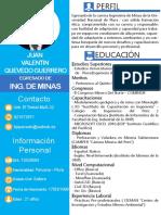 Juan Valentín Quevedo Guerrero CV