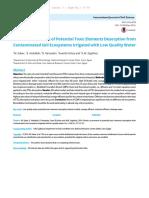 International Journal of Soil Science NON