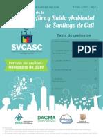 Boletin Mensual de la calidad del aire - Noviembre 2019