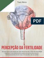 Ebook Percepção da Fertilidade