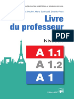 Ghidul Profesorului, Limba Franceza, Nivelele A1, A1.1, A1.2 (a. 2019)
