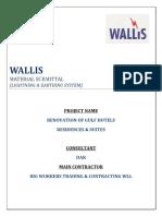 Wallis Submittal