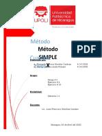 Ejercicios Del Método Simplex Grupo 4
