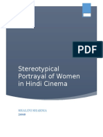 Stereotypical Portrayal of Women in Hindi Cinema.docx